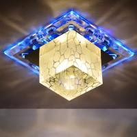Buy cheap LED crystal aisle ceiling light luminarias home decoration entrance lights led corridor from wholesalers