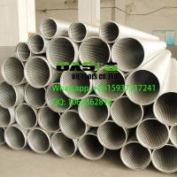Quality stainless steel continuous slot wire wrapped Johnson screens for well drilling wholesale