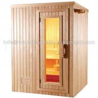 Quality 4 People Dry Steam Room Equipment Durable White Pine Wood With Sauna Accessories wholesale