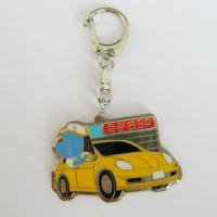 Quality Car logos Sanding / Pad Printing promotional metal keyrings with lower price wholesale