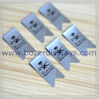 Stainless Steel Promotional Printed Paper Clips/Branded Paperclips for sale