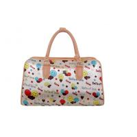 Quality Durable Oxford fabric Cloth Travel bags with Logo / flower printing wholesale