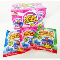 Quality Multi Fruit Flavor CC Candy Stick Sweets With Lovely Villa Jigsaw Puzzle Toy wholesale