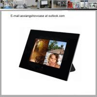Quality Cherished Accents Glass Photo Picture Frame Coaster Set wholesale