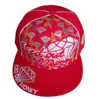 Quality Baseball Cap with Embroidery and PVC Embossed wholesale