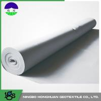 Quality PET / PP Filament Non Woven Geotextile Fabric 600GSM High Water Flow Rates wholesale