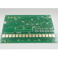 Quality Green Solder Mask Aluminum / FR4 PCB Fabrication Service with Gold Plating wholesale