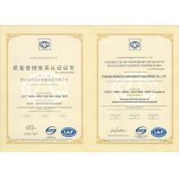 Foshan Wandaye Machinery Company Limited Certifications