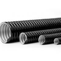 Quality 4 Inch PVC Coated Flexible Electrical Conduit Pipe Customizable Printing wholesale