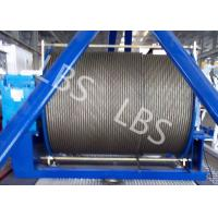 Quality 20 Ton 50 Ton Electric Wire Rope Winch Steel Cable Industrial Electric Winch wholesale