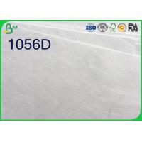 Quality White Color Tyvek Paper Roll , 1025D 1056D 1057D Tyvek Sheets For Printing wholesale