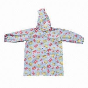 Quality Children's fashion rain coat (printed rain coat), environment-friendly wholesale