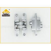 Quality Zinc Alloy 3D Adjustable Invisible Door Hinges For Interior Door Thickness 30mm/40mm wholesale