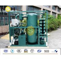 Quality High Efficiency Two Stage Transformer Oil Purifier Waste Oil Purification Machine wholesale