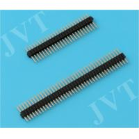 Quality PA6T UL 94V-0 Housing Straight 1.27mm Pitch Connectors for Audio / PCB Boards wholesale