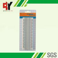 Buy cheap 830 tie-point Solderless Plug-in Breadboard 16.5x5.4x0.85(cm) for prototyping from wholesalers