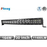 Quality Curved LED Light Bar 30 Inch 164W Led truck light bar spot food combo beam IP67 wholesale