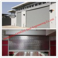 Quality Fire Prevention Motorized Steel Sliding Doors With American Standard Industrial Folding Door wholesale