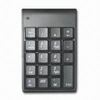 Quality Mini Wired Keyboard with 4,000,000 Times Lifespan, Made of Plastic wholesale