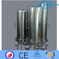 Quality 304 316 Big Blue Filter Housing For Microorganism Particle Reduction In Wine wholesale