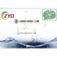 Quality Home Kitchen Faucet Supply Lines, Good Seal Flexible Stainless Steel Braided Hose wholesale