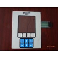 China PET Light Weight Membrane Switch Keyboard , Remote Control Membrane Panel Switch on sale