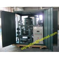 China Double Stage Vacuum Transformer oil purifier,oil clean Used Transformer Oil Filtration Systems with CE ISO made in China on sale