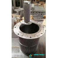 Quality Stainless Steel Pleated Filters With Firm Structure and High Porosity wholesale