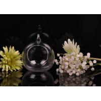 Quality Borosilicate Glass Hanging Tealight Candle Holders ASTM Passed wholesale