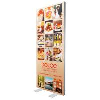 Quality Single Sided SEG Fabric Frames Advertising Light Box 85 * 200 Cm Graphic Size wholesale