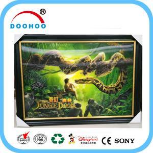 Quality Competitive Advantage PET 3D Lenticular Poster UV Printing CMYK / Pantone Color wholesale