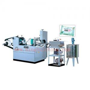 China Multi-pieces wet tissue machine on sale