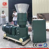 Quality Flat Die Type Pellet Mill Machine For Worm Waste Making Organic Fertilizer wholesale