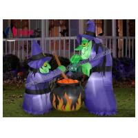 Quality Halloween Inflatable Yard Decorations , Ghost Skull Devil Halloween Home Decor wholesale