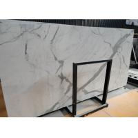 Quality Italian Calacatta Nature Marble Slab Countertop For Kitchen Bar OEM / ODM Avaliable wholesale