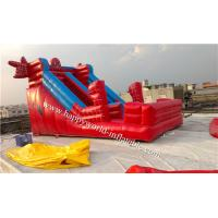Quality inflatable spider man bouncy castle , inflatable dry slide , inflatable slide wholesale