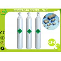 China CF4 Carbon Tetrafluoride Electronic Gases / Refrigerant R14 Gas on sale