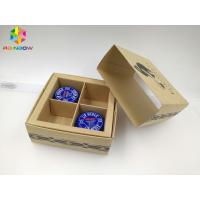 China PVC / Kraft Custom Printed Paper Boxes , Gift Box Packaging With Transparent Window on sale