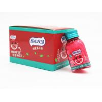 Buy cheap 21.8g Miss RED Lovely triangle bottles watermelon flavor sugar free mint candy from wholesalers
