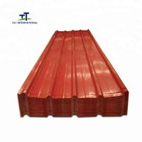 China Cold Pressing Formed Galvanized Steel Sheet , Galvanized Steel Roofing Sheets on sale