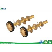 Quality Easy Install Brass Toilet Bolts Set Of Two For Connection Of Close Coupled WC wholesale