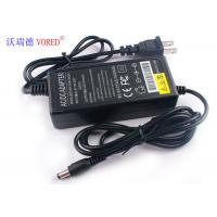 Cheap 24V 2A Black Desktop Switching Power Supply US Plug PC ABS Material for sale
