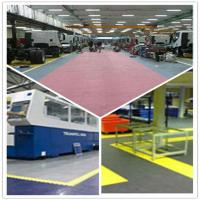 Quality PVC Outdoor Interlocking Plastic Floor Tiles For Workshop wholesale