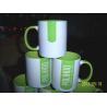 Buy cheap 7102 white inside colors ceramic mug 11OZ sublimation mug custom your LOGO from wholesalers