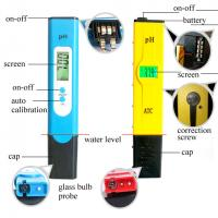 Quality Waterproof Digital PH Meter Tester , Digital PH Pen Tester High Accuracy wholesale