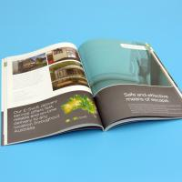 Buy cheap 4c + 4c Full Color Printing Catalogue Printing Service With CE / FSC from wholesalers