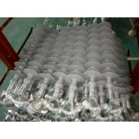 Quality 69KV/120kN Composite Silicone Insulator with Gray Sheds, Y-Clevis and Tongue wholesale