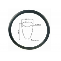 Quality All Road 31MM Width 44MM Height T800 Disc Carbon Rim Tubular Road Bike Bicycle Rim wholesale