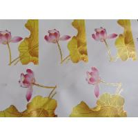 China Dye And Pigment Ink Water Decals For Furniture Low / High Temperature Resistance on sale