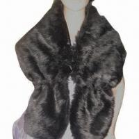 China Scarf, Made of Plush Faux Fur, Solid Color, Very Soft/Big Shawl, Customized Colors/Sizes Accepted on sale